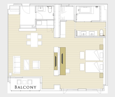 Panorama Terrace Suite layout