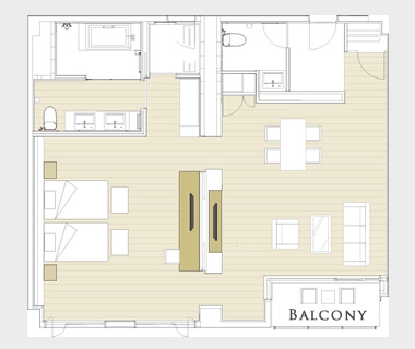 Terrace Suite layout